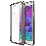 REARTH Ringke Fusion Galaxy Note 4 [RFSG014] - Smoke Black - Casing Handphone / Case